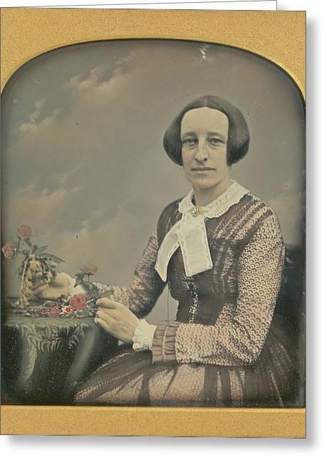 Mrs. R. Holdsworth Richard Beard, British, 1802 - 1888 Greeting Card