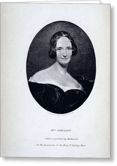 Mrs Shelley Greeting Card