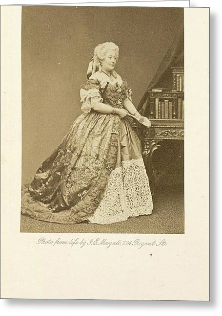 Mrs. Stirling Greeting Card by British Library