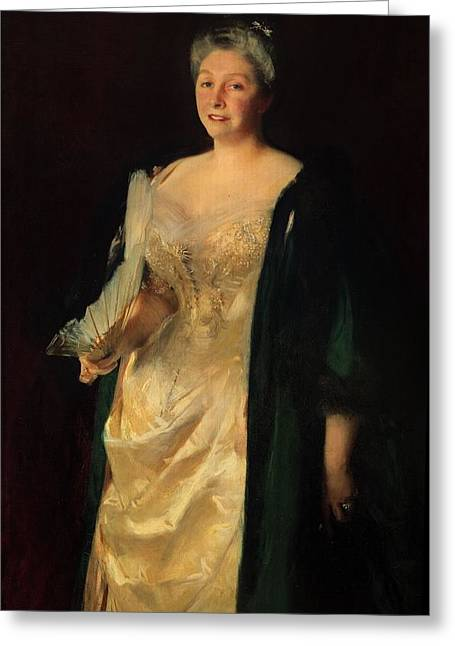 Mrs. William Playfair, 1887 Greeting Card by John Singer Sargent