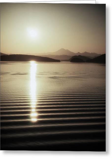 Mt. Baker Sunrise Greeting Card