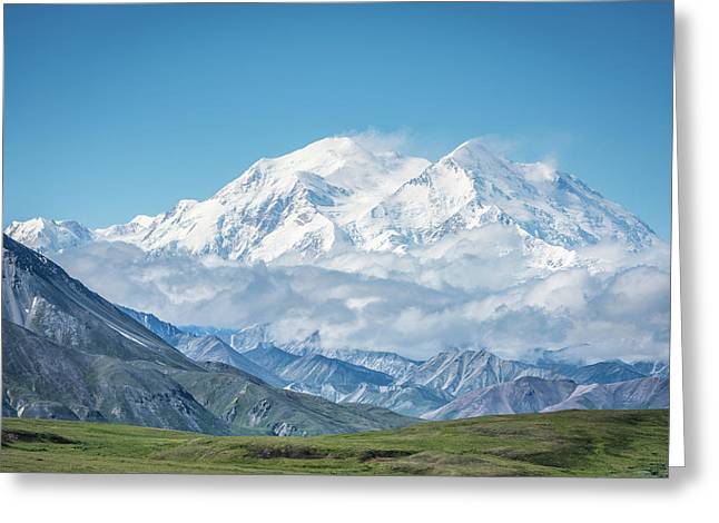 Mt. Denali - Alaska 20,310' Greeting Card