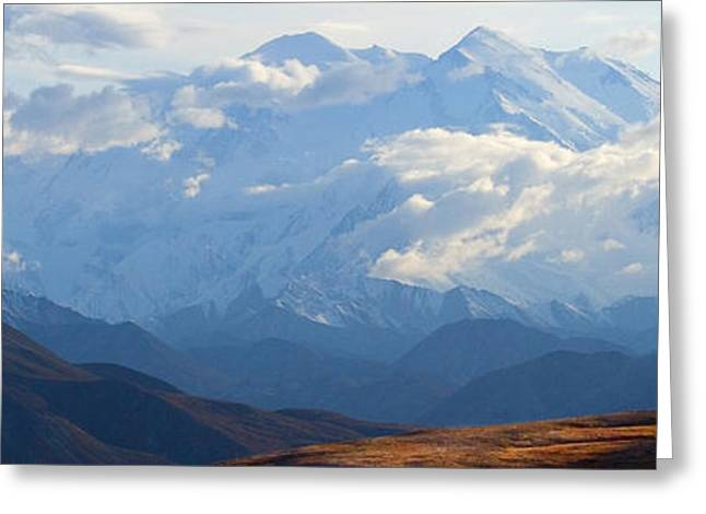 Mt. Denali Greeting Card