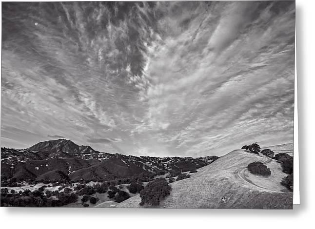 Mt Diablo And Ridge Trail Greeting Card
