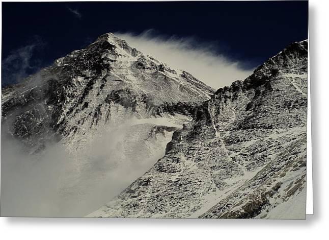 Mt Everest Greeting Card