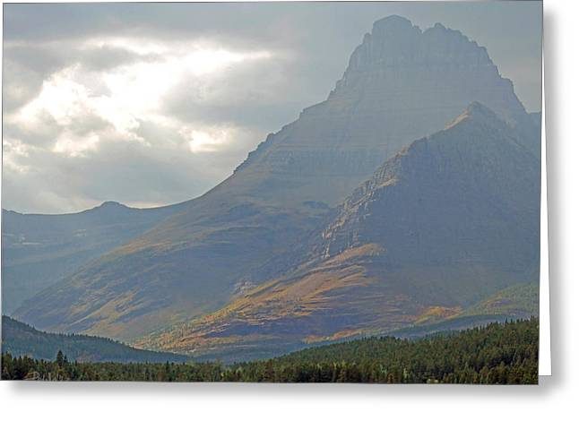 Mt Grinnell - Glacier National Park Greeting Card