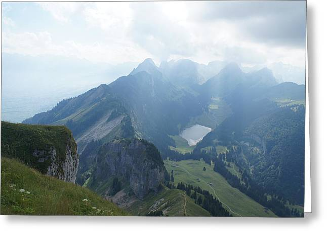 Mt. Hoher Kasten - Switzerland Greeting Card by Nikki  Wang