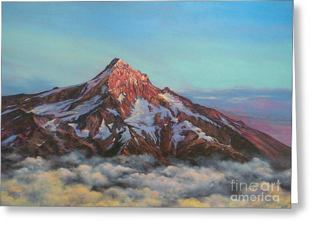 Mt Hood North Face Greeting Card