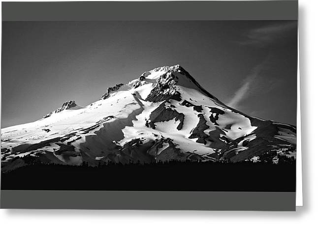 Mt. Hood Greeting Card by Ron Latimer