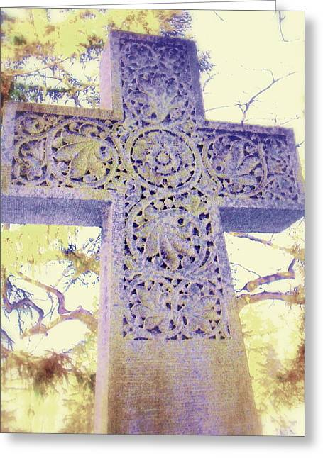Mt. Hope Cemetery Rochester Ny Greeting Card by Jodie Marie Anne Richardson Traugott          aka jm-ART