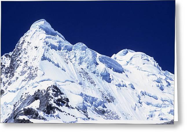 Mt Hualcan Greeting Card