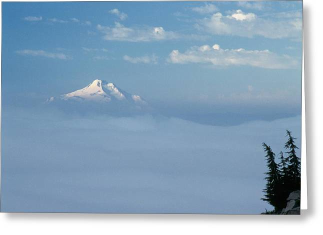 Mt. Jefferson Greeting Card