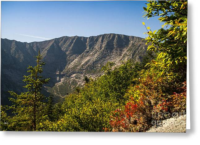 Mt. Katahdin From Hamlin Ridge Greeting Card