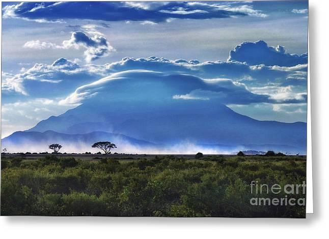 Mt Kilimanjaro Greeting Card
