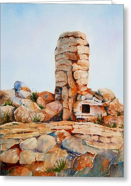 Mt Lemmon Tucson Az Greeting Card