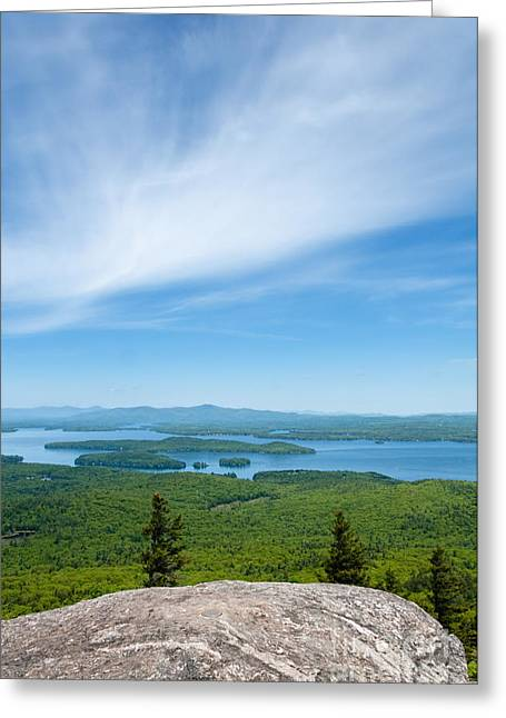 Mt Major View Greeting Card