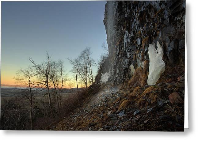 Mt Mckay Spring Waterfall Greeting Card by Jakub Sisak