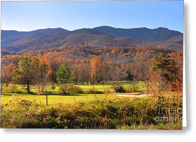 Mt Mitchell Nc Greeting Card by Stuart Mcdaniel