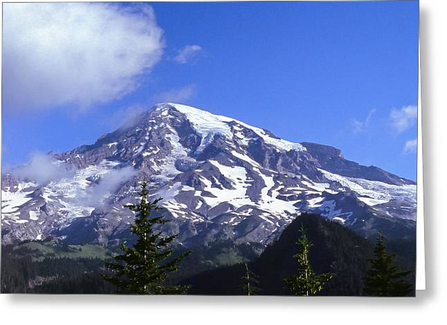 Mt. Rainier Greeting Card