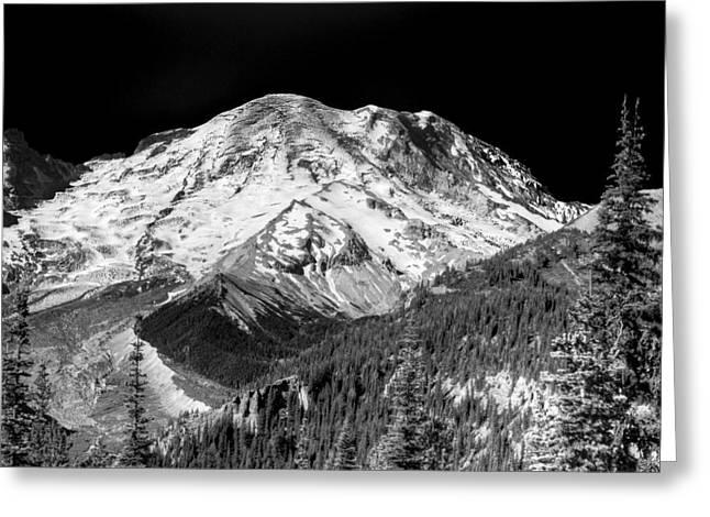 Mt. Rainier Vii Greeting Card by David Patterson