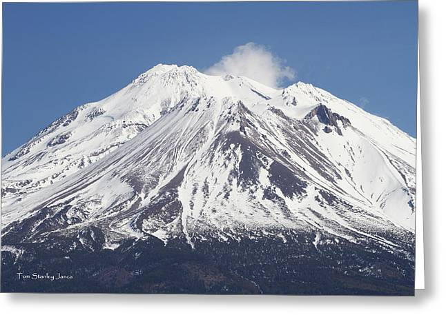 Mt Shasta California Greeting Card
