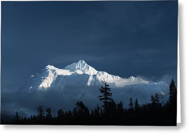 Mt Shuksan Greeting Card