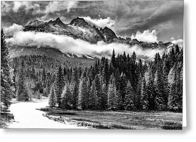 Mt Sneffels Greeting Card by Steven Reed