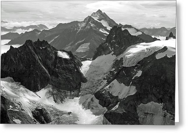 Mt. Titlis Greeting Card