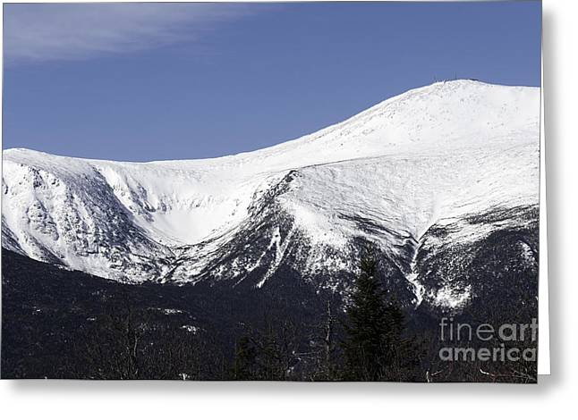 Mt Washington And Tuckerman's Ravine Greeting Card