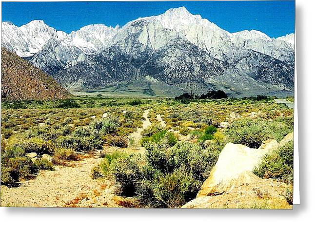 Mt Whitney Greeting Card