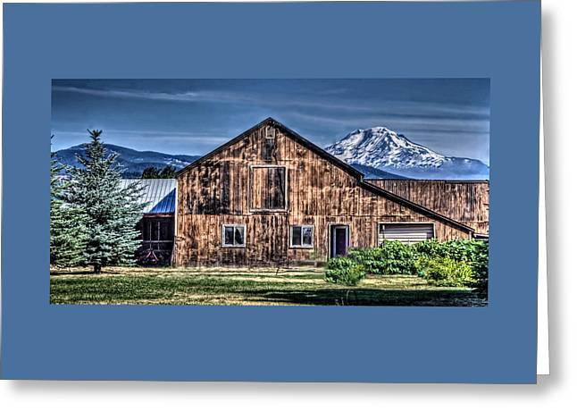 Greeting Card featuring the photograph Mt. Adams by Thom Zehrfeld