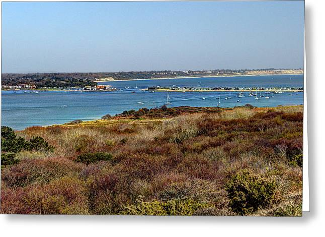 Mudeford Harbour Greeting Card