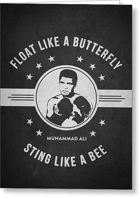 Muhammad Ali - Dark Greeting Card