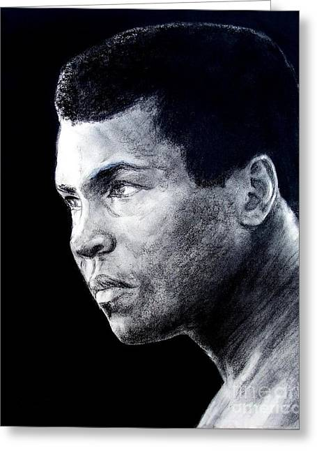 Muhammad Ali Formerly Known As Cassius Clay IIi Greeting Card by Jim Fitzpatrick