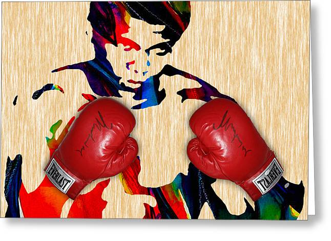 Muhammad Ali Collection Greeting Card