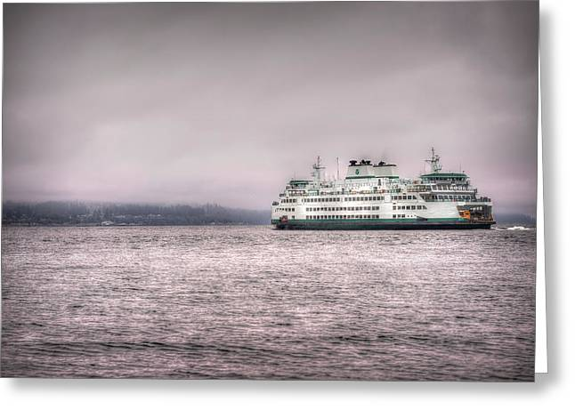 Mukilteo Ferry Greeting Card