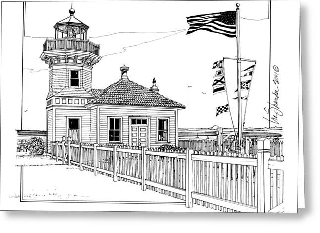 Mukilteo Light Greeting Card