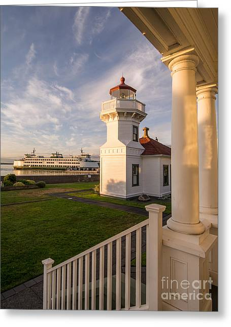 Mukilteo Lighthouse 2 Greeting Card