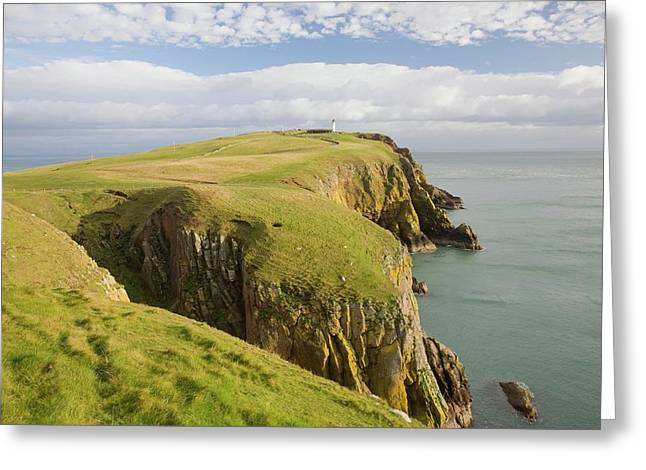 Mull Of Galloway Scotland Greeting Card