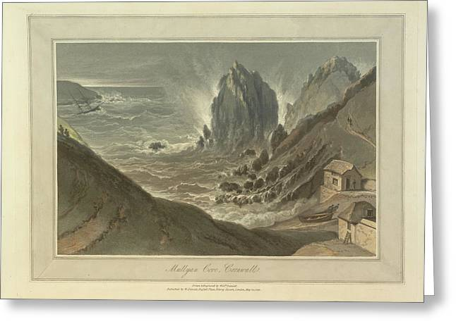 Mullyan Cove Greeting Card by British Library