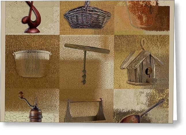 Multi Home Decor - Beige 140076149xfr Greeting Card