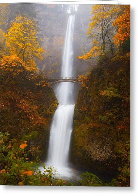 Multnomah Morning Greeting Card