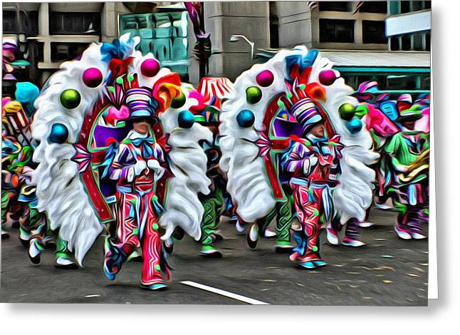 Mummer Color Greeting Card