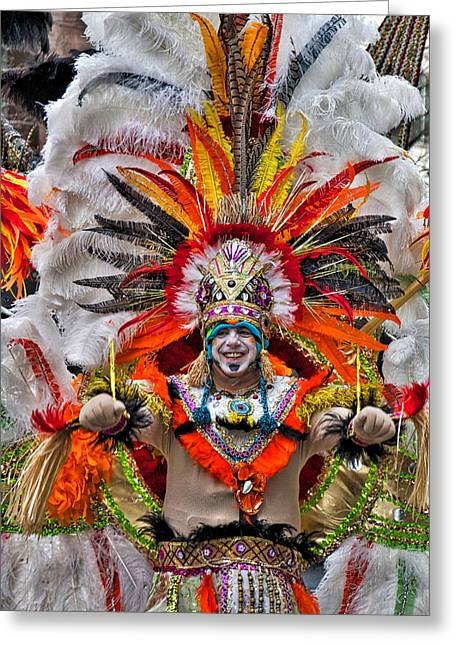 Mummer Wow Greeting Card
