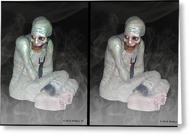 Mummy Dearest - Cross Your Eyes And Focus On The Middle Image That Appears Greeting Card