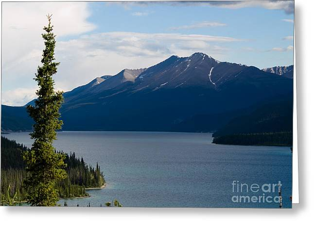 Muncho Lake Greeting Card