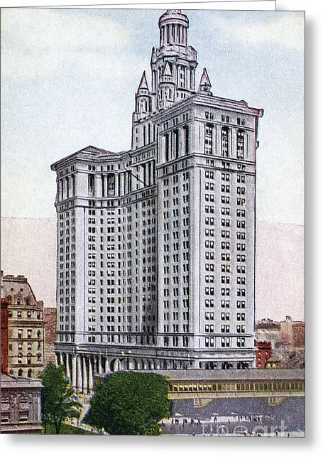 Municipal Building Greeting Card by Granger