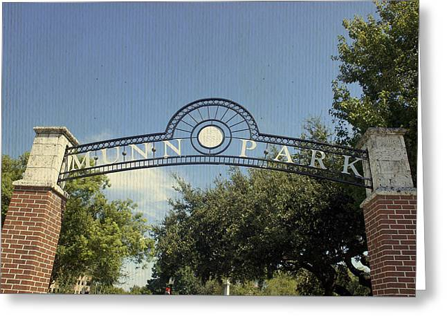 Munn Park Greeting Card