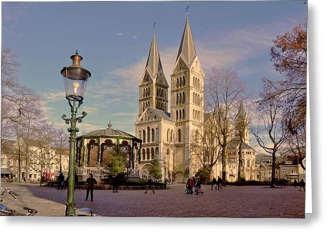 Munster Church Roermond Greeting Card