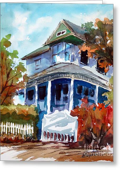 Munzesheimer Manor B B Mineola Tx Greeting Card by Ron Stephens